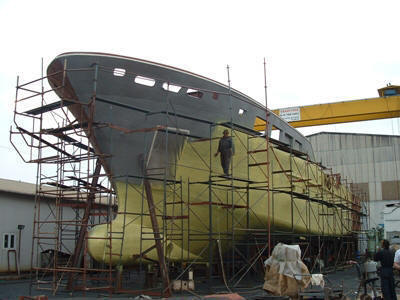 Naval Architect - YACHT DESIGN BY ED FRY OF FRYCO - BOAT BUILDING